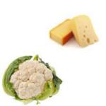 cauliflower with cheese
